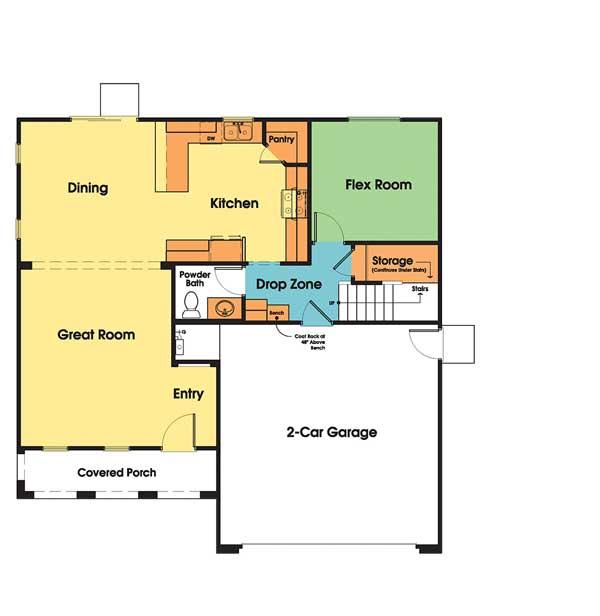 The Heirloom Interactive Floor Plan